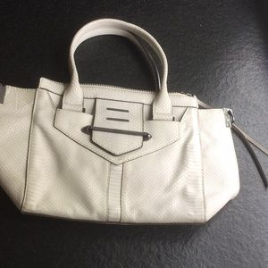Botkier leather cream handbag